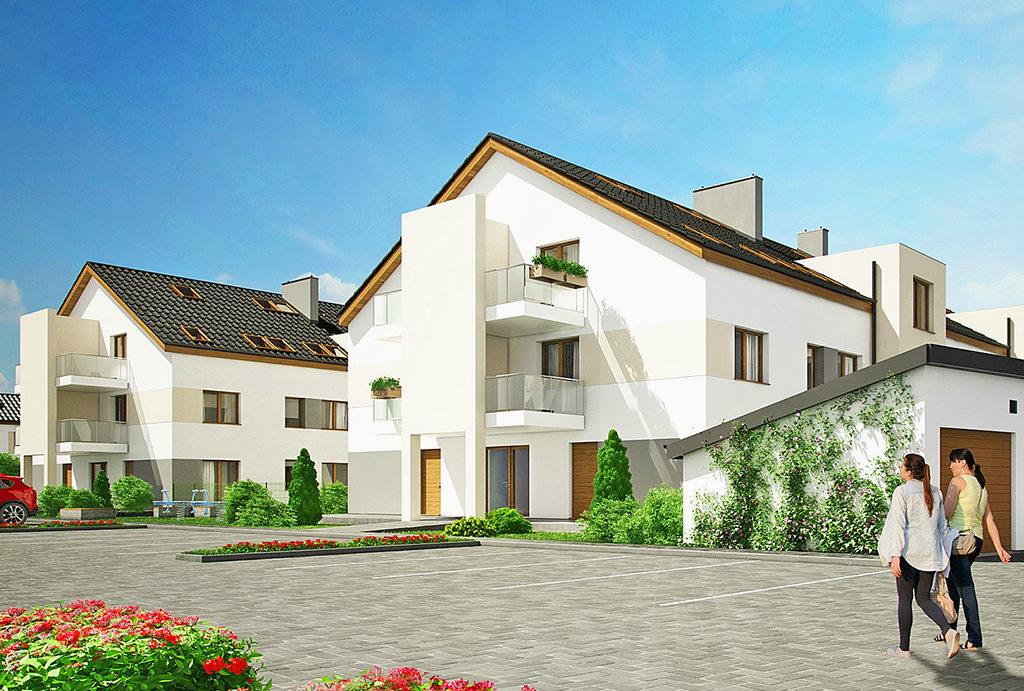 rzut pokazujące osiedle, na którym usytuowane jest mieszkanie do sprzedaży Wrocław okolice