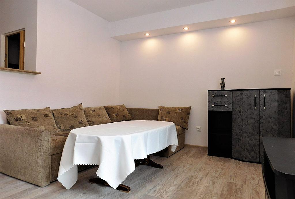 na zdjęciu fragment salonu w mieszkaniu do wynajmu Wrocław okolice