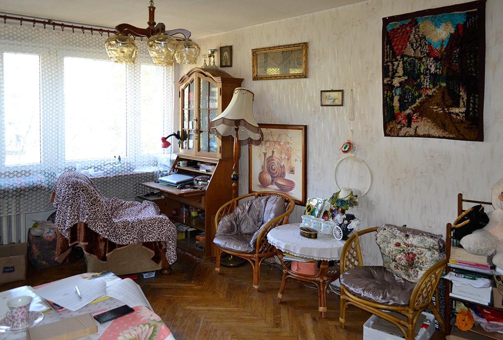 widok na jeden z pokoi w mieszkaniu do sprzedaży Wrocław Centrum