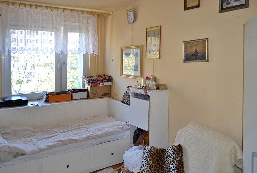 prywatna i zaciszna sypialnia w mieszkaniu do sprzedaży Wrocław Centrum