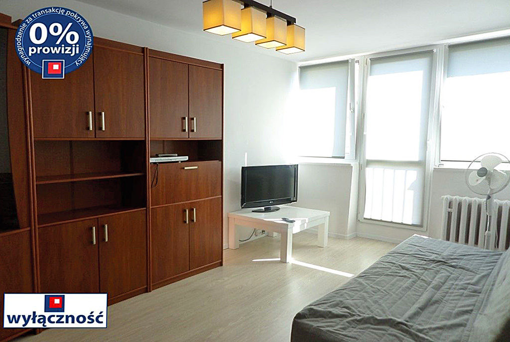 komfortowy salon w mieszkaniu na wynajem Wrocław Psie Pole