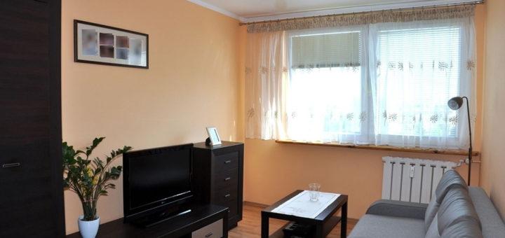 komfortowy salon w mieszkaniu do sprzedaży Wrocław okolice