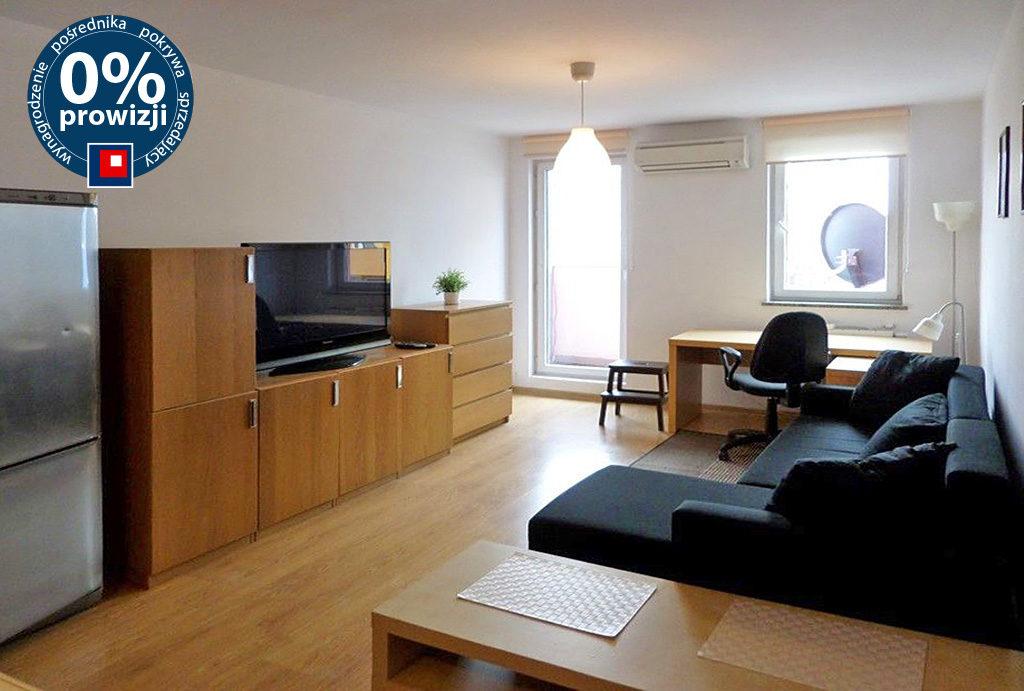 widok na salon w mieszkaniu do wynajmu Wrocław Krzyki
