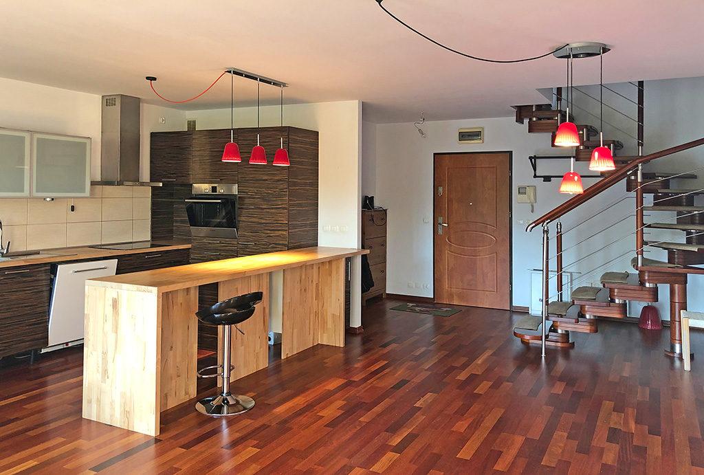 komfortowe wnętrze mieszkania do wynajmu Wrocław Krzyki