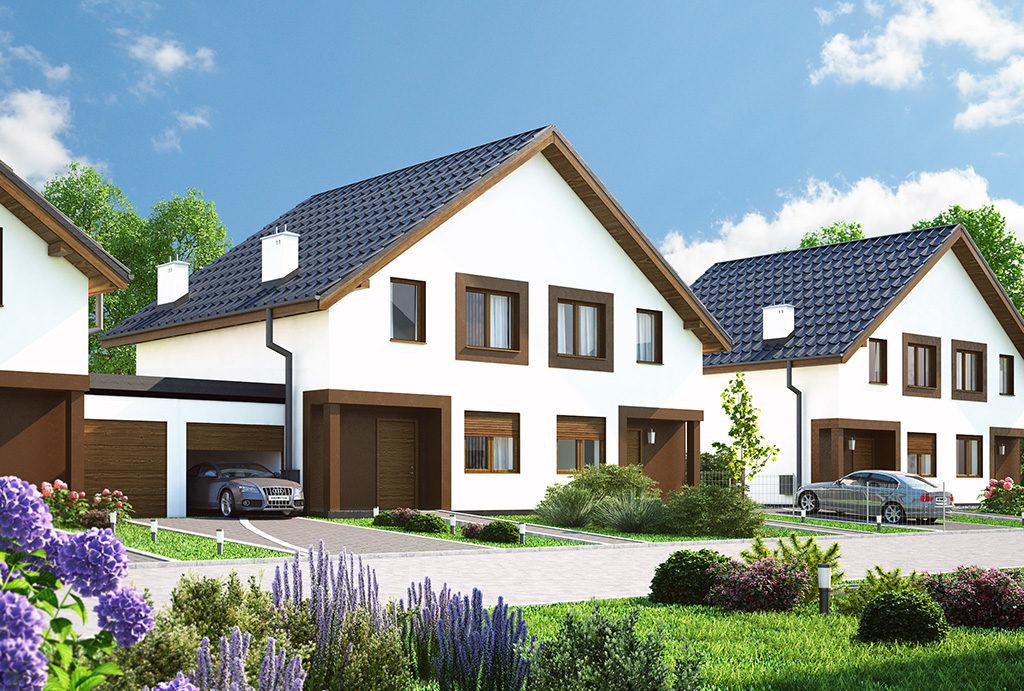 rzut na osiedle, gdzie mieści się oferowane do sprzedaży mieszkanie Wrocław