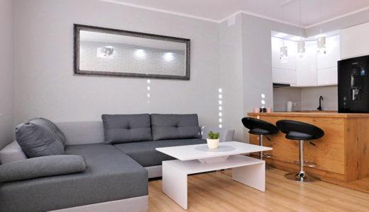 prestiżowy salon w mieszkaniu do wynajęcia Wrocław (okolice)