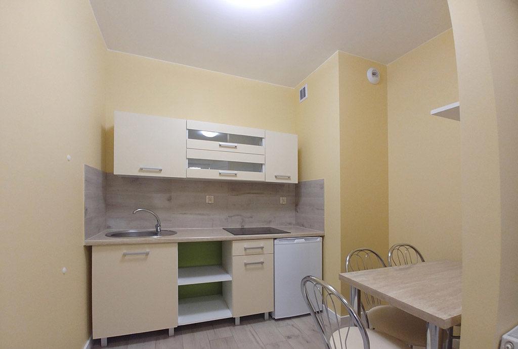 funkcjonalna kuchnia w mieszkaniu do wynajmu Wrocław Śródmieście