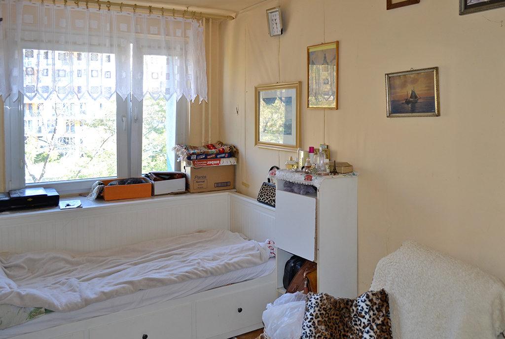 elegancka sypialnia w mieszkaniu na sprzedaż Wrocław Centrum