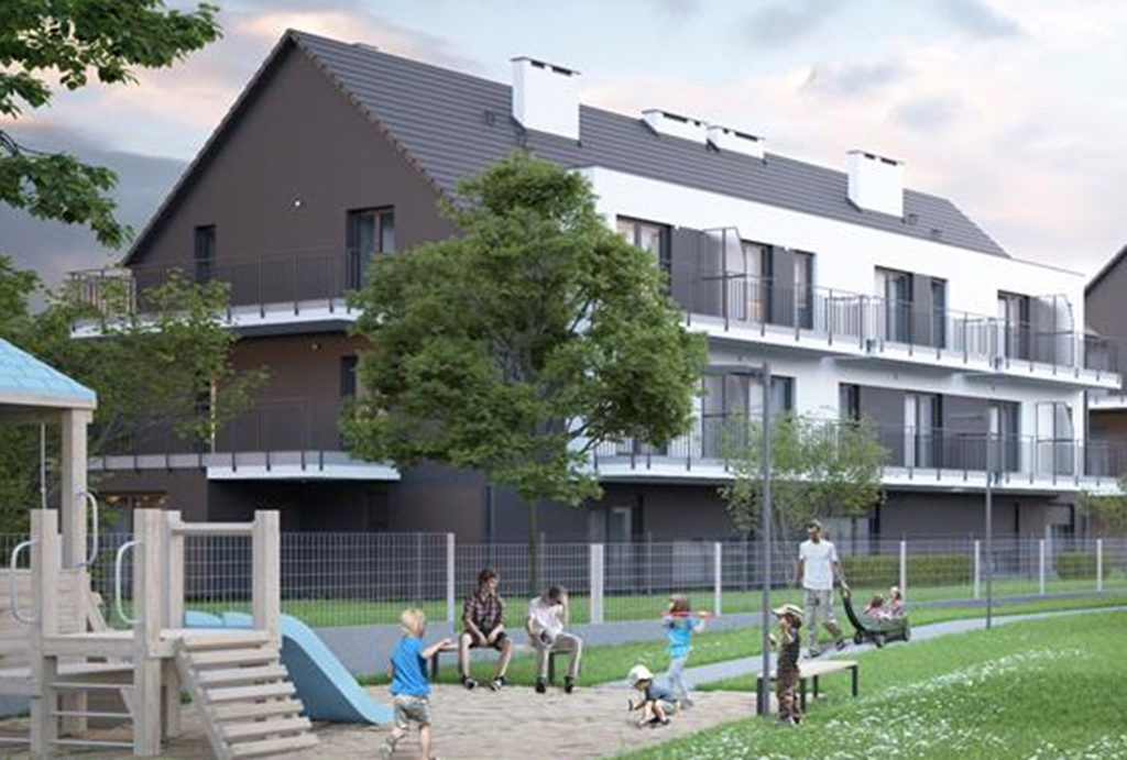 malownicza lokalizacja pośród zieleni mieszkania na sprzedaż Wrocław Fabryczna