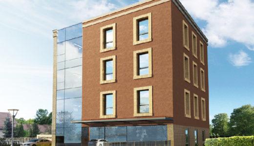 na zdjęciu widzimy blok, w którym znajduje się oferowane do sprzedaży mieszkanie Wrocław Fabryczna