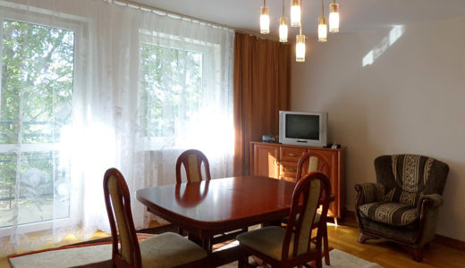 luksusowy salon znajdujący się w mieszkaniu do wynajmu Wrocław Krzyki