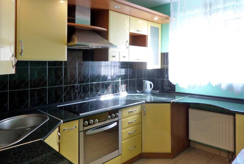 funkcjonalnie zabudowana kuchnia w mieszkaniu na wynajem Wrocław Krzyki
