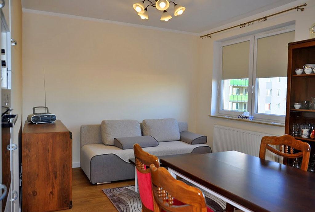 prestiżowy salon w mieszkaniu do wynajmu Wrocław (okolice)