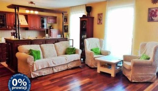 komfortowy salon w apartamencie na sprzedaż Wrocław Śródmieście
