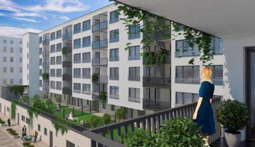balkon widokowy przy mieszkaniu do sprzedaży Wrocław Śródmieście