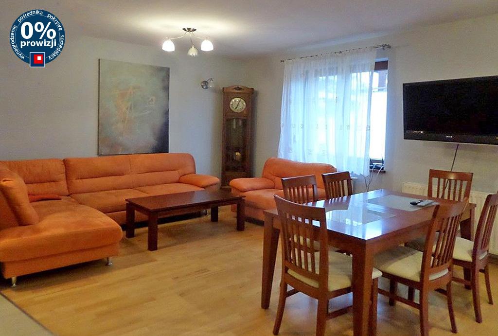 na zdjęciu komfortowy salon w mieszkaniu do wynajmu Wrocław Śródmieście