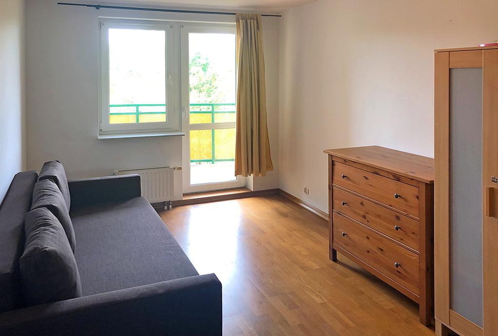 zaprojektowane w komfortowy sposób pokoje i pomieszczenia w mieszkaniu do wynajęcia Wrocław Krzyki