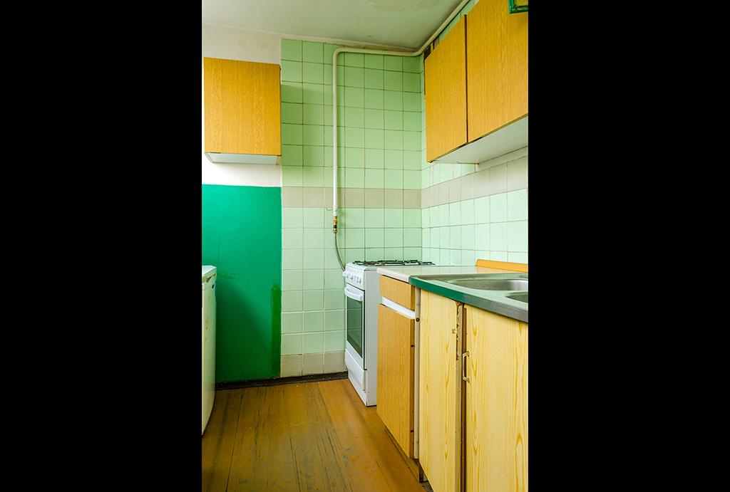 zabudowana kuchnia w mieszkaniu na sprzedaż Wrocław Krzyki