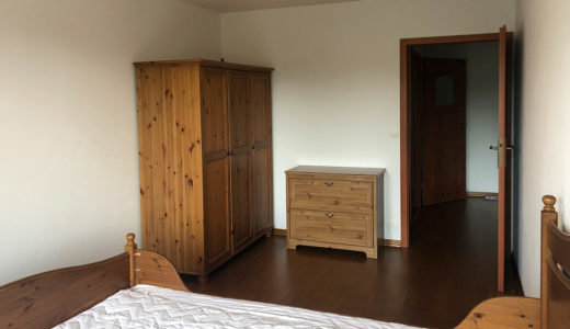 prywatna sypialnia w mieszkaniu do sprzedaży Wrocław Krzyki