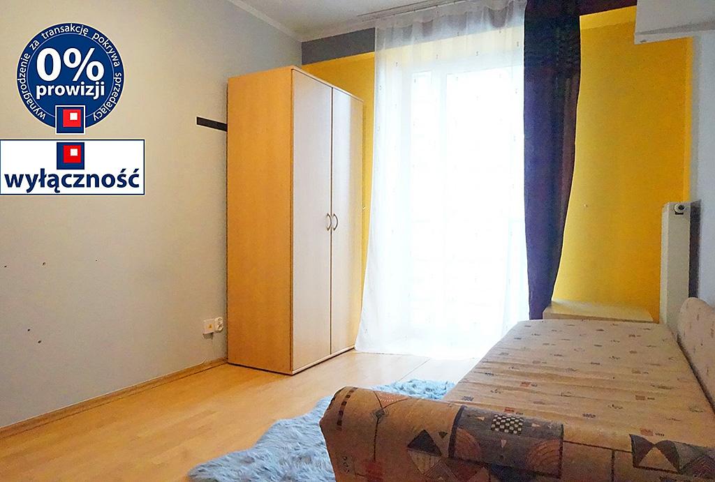 widok na sypialnię w mieszkaniu do sprzedaży Wrocław Stare Miasto