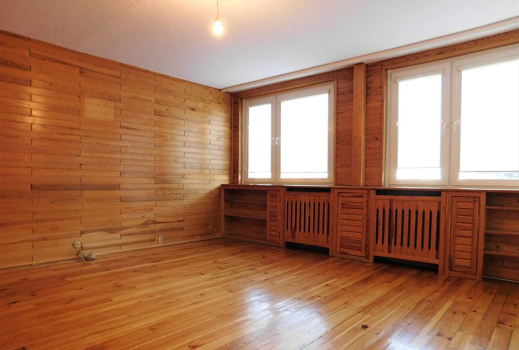 przestronny salon w mieszkaniu do wynajęcia Wrocław (okolice, Oława)