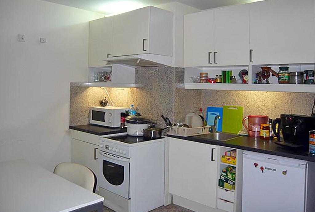 funkcjonalna kuchnia w mieszkaniu na wynajem Wrocław Śródmieście