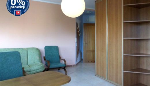 kameralny salon w mieszkaniu do wynajęcia Wrocław Fabryczna