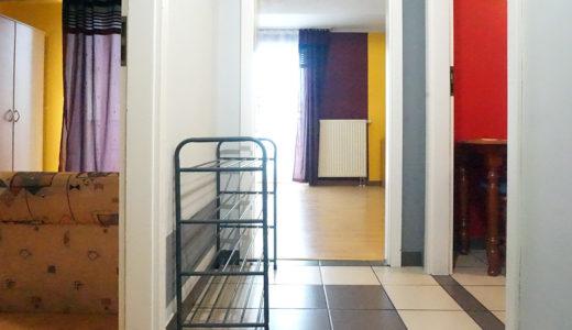 rozkład pokoi w mieszkaniu do sprzedaży Wrocław Stare Miasto