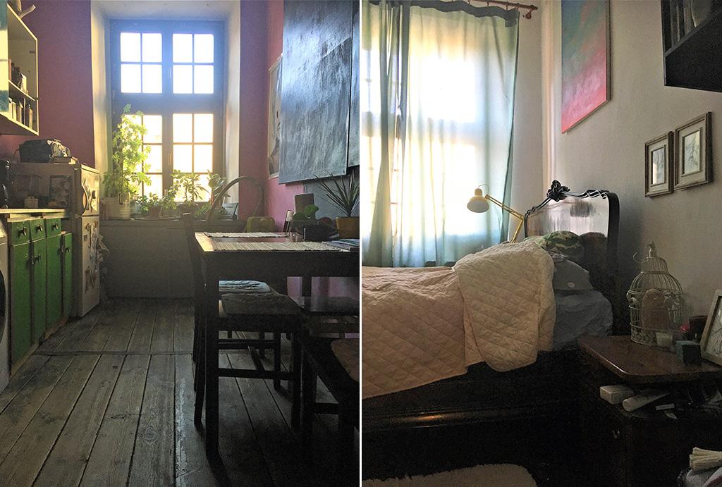 dwa komfortowe pokoje w mieszkaniu na sprzedaż Wrocław Stare Miasto
