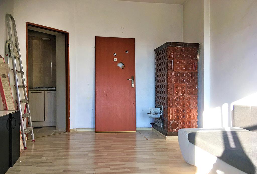 elegancka sypialnia w mieszkaniu do sprzedaży Wrocław