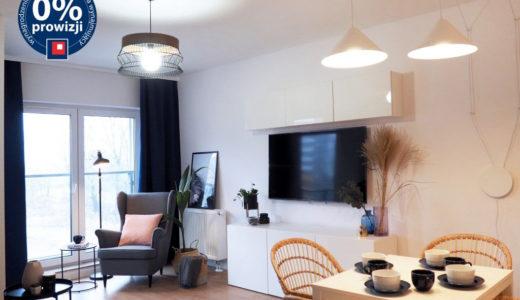 nowoczesny salon w apartamencie do wynajęcia Wrocław Psie Pole