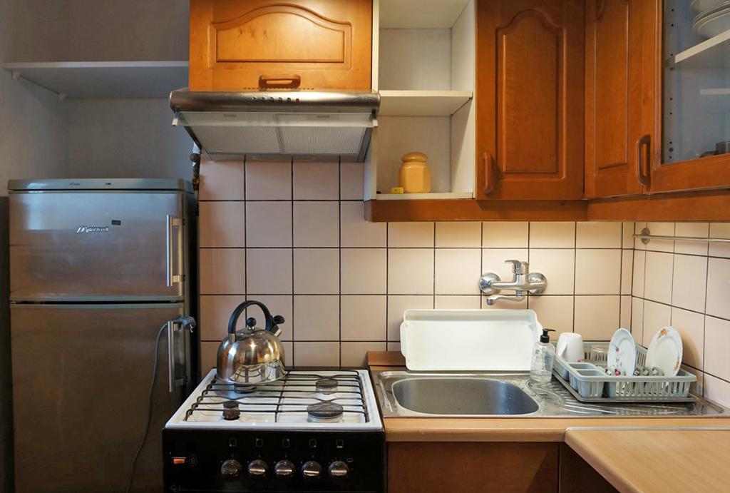 funkcjonalna kuchnia w mieszkaniu do wynajmu Wrocław Krzyki
