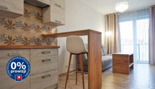 nowoczesny aneks kuchenny w mieszkaniu do wynajęcia Wrocław Psie Pole
