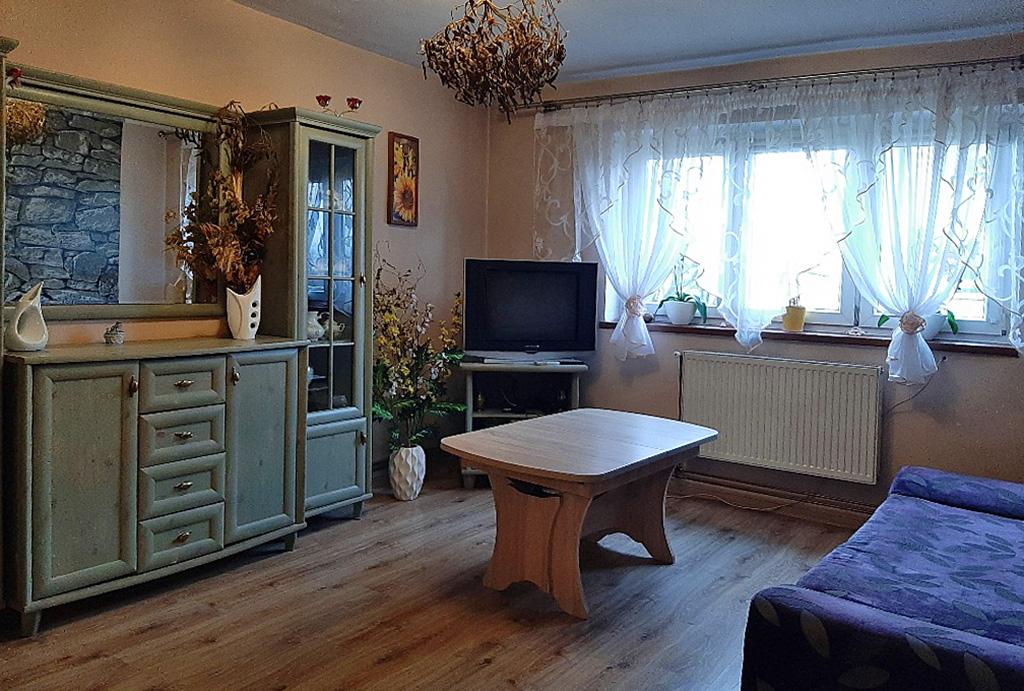 elegancki salon w mieszkaniu do sprzedaży Wrocław (okolice, Radwanice, Głogów)
