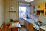 zabudowana komfortowo kuchnia w mieszkaniu do sprzedaży Wrocław (okolice, Radwanice, Głogów)