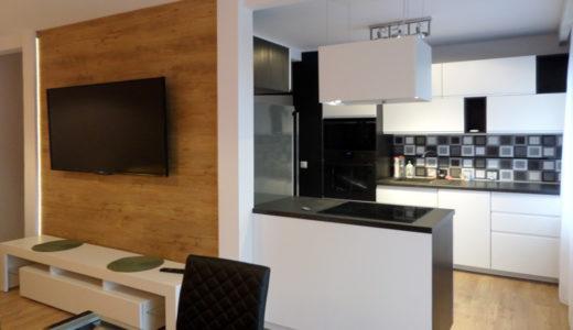 nowoczesne wnętrze mieszkania do wynajmu Wrocław Fabryczna