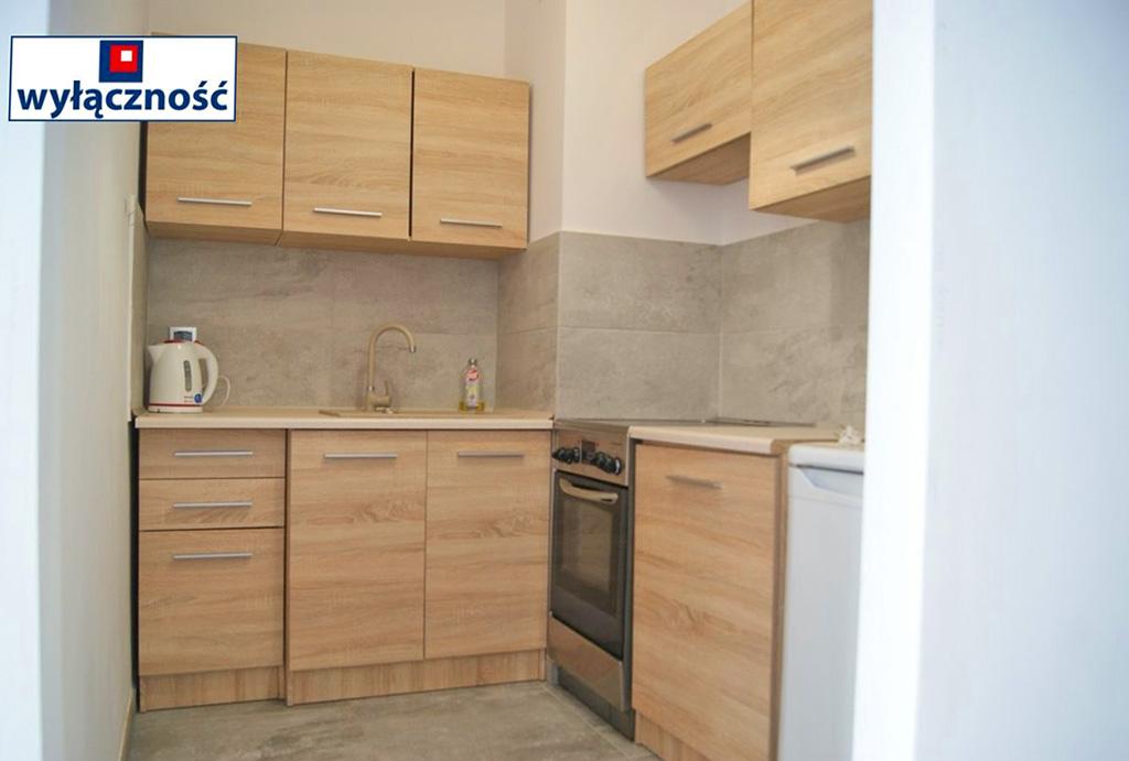 umeblowana kuchnia w mieszkaniu do wynajmu Wrocław Jagodno