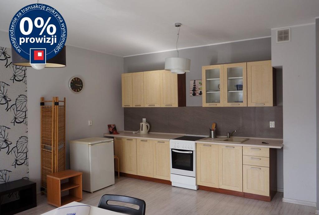 zabudowana kuchnia w mieszkaniu do wynajmu Wrocław Krzyki