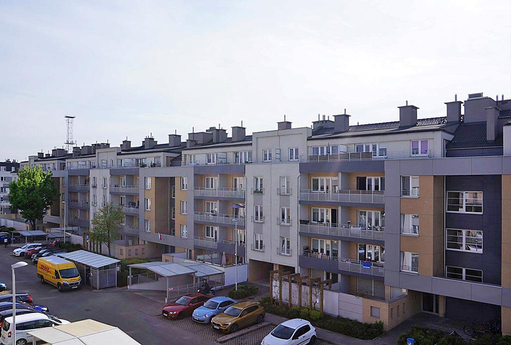 prestiżowe osiedle na którym znajduje się oferowane na wynajem mieszkanie Wrocław Krzyki