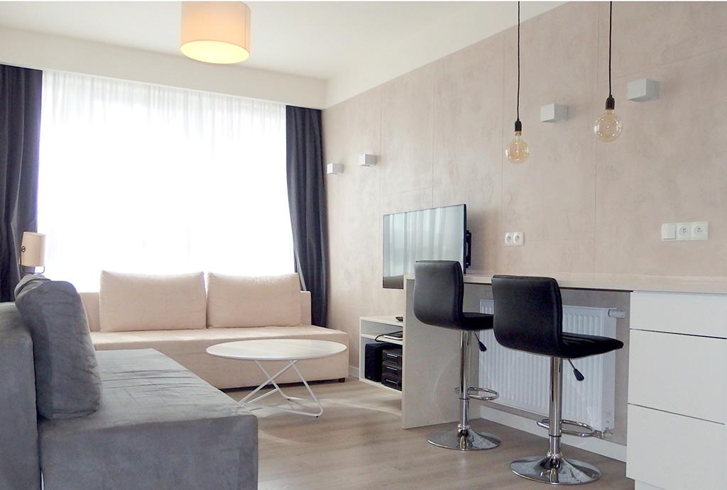 prestiżowy salon w apartamencie na sprzedaż Wrocław Stare Miasto