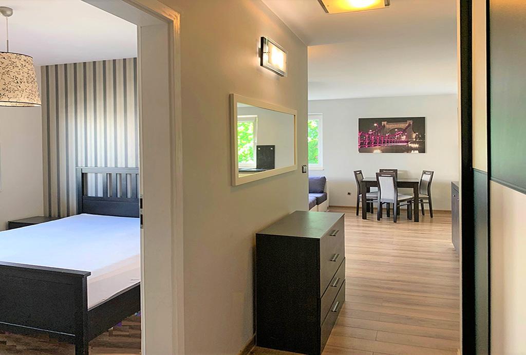 komfortowe wnętrze mieszkania do wynajmu Wrocław Fabryczna