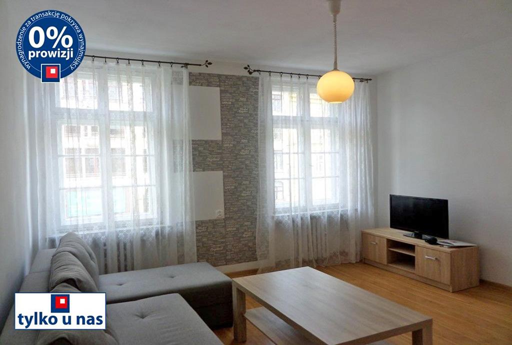 nowoczesny pokój dzienny w mieszkaniu do wynajęcia Wrocław Stare Miasto