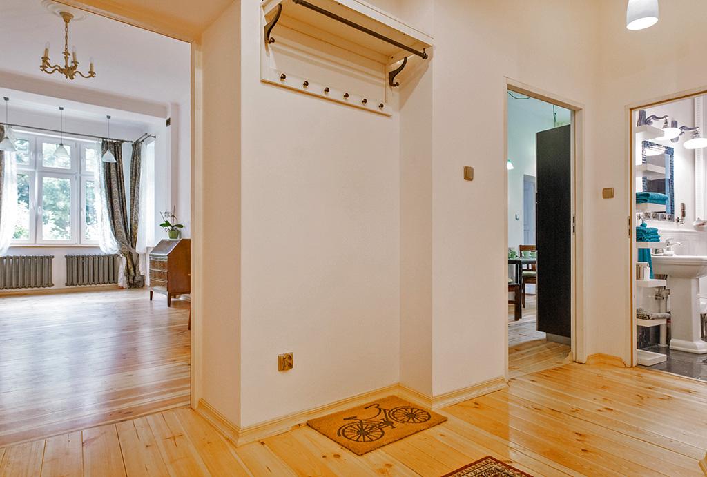 funkcjonalny rozkład pomieszczeń w mieszkaniu do sprzedaży Wrocław Śródmieście