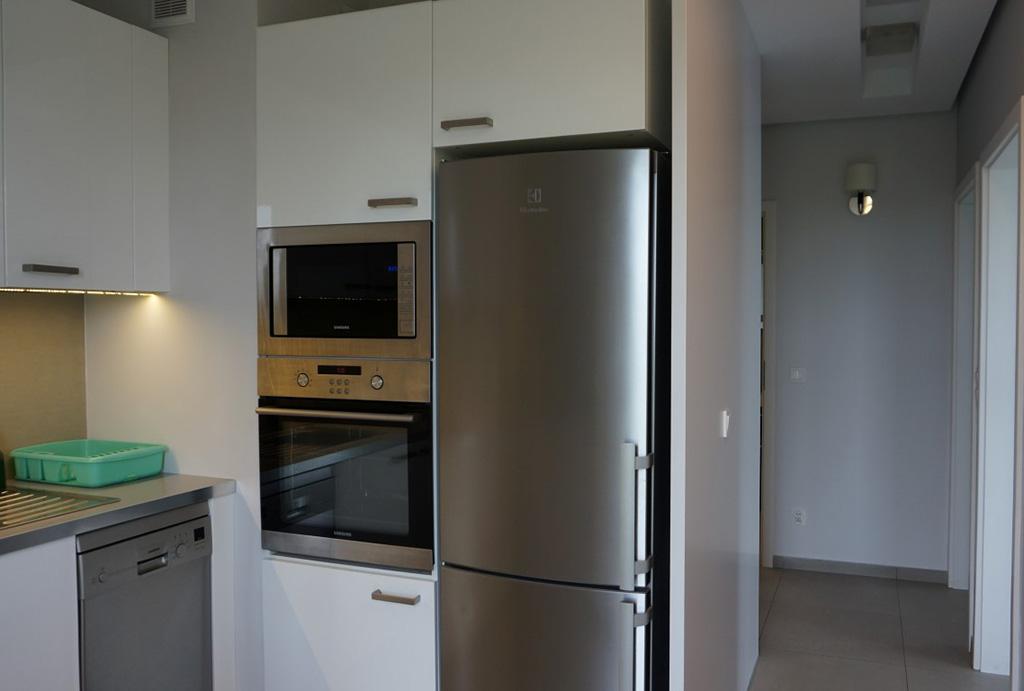 komfortowa kuchnia w mieszkaniu do wynajmu Wrocław Krzyki