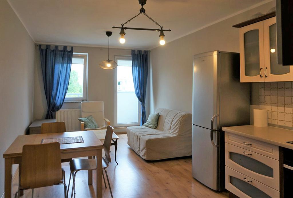 komfortowy pokój dzienny w mieszkaniu do wynajmu Wrocław Krzyki
