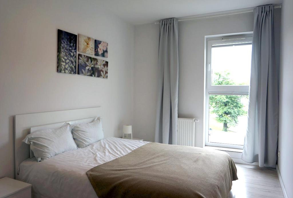 prywatna sypialnia w mieszkaniu do wynajmu Wrocław Krzyki