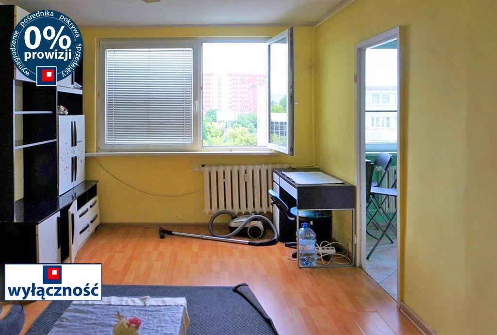 komfortowy salon w mieszkaniu do sprzedaży Wrocław Psie Pole