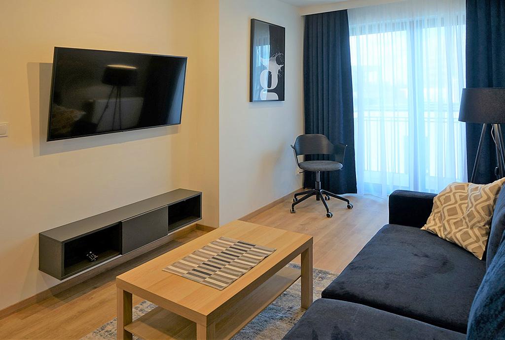 prestiżowy pokój dzienny w mieszkaniu do wynajmu Wrocław Śródmieście