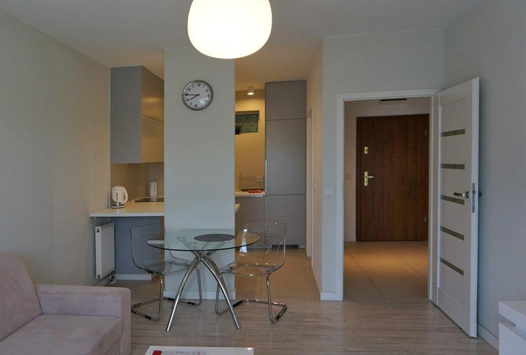 nowoczesne wnętrze mieszkania do wynajęcia Wrocław Krzyki