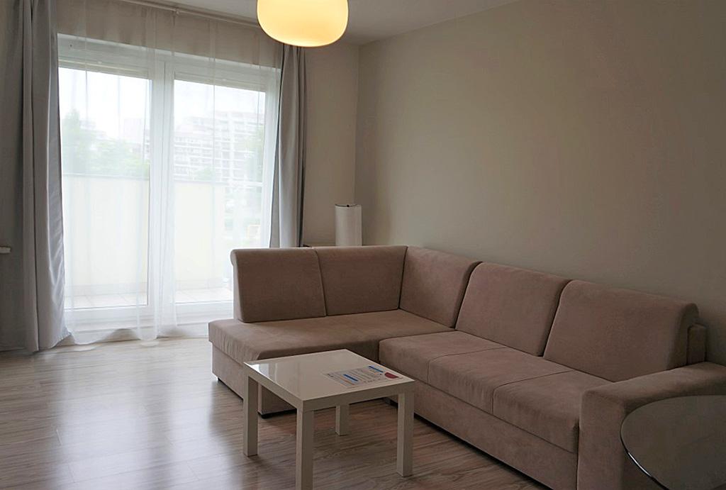 salon w mieszkaniu do wynajmu Wrocław Krzyki